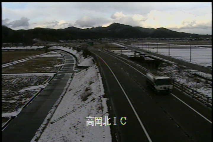 国道470号 高岡北インターチェンジのライブカメラ|富山県高岡市