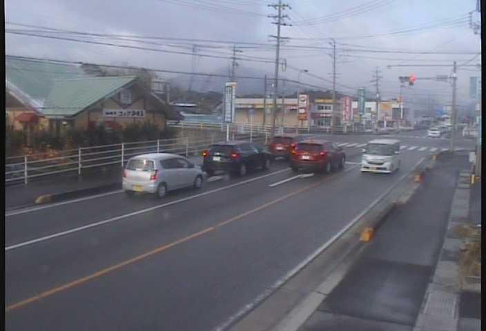 国道477号菰野宿野のライブカメラ|三重県菰野町