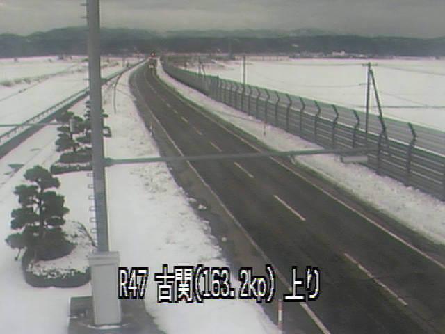 国道47号線古関のライブカメラ・天気・地図 山形県庄内町