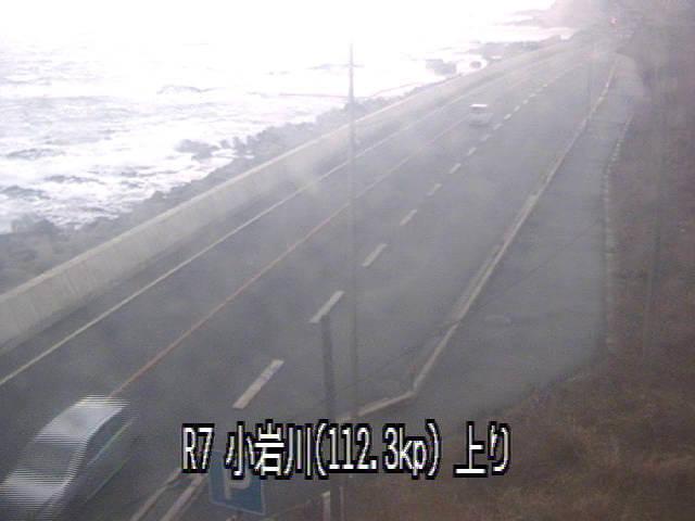 国道7号小岩川のライブカメラ|山形県鶴岡市