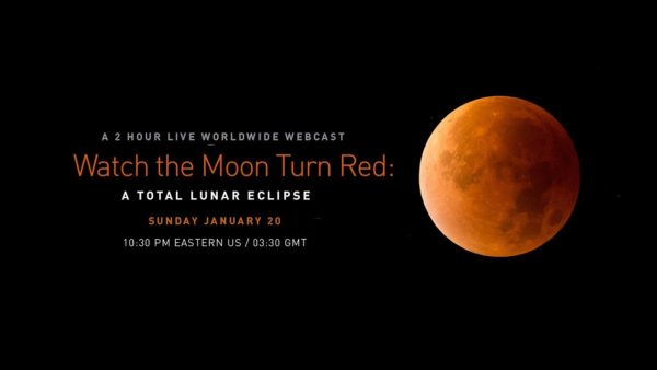 "WATCH THE ""SUPER BLOOD WOLF MOON"" LIVE / 皆既月食2019のライブ中継"