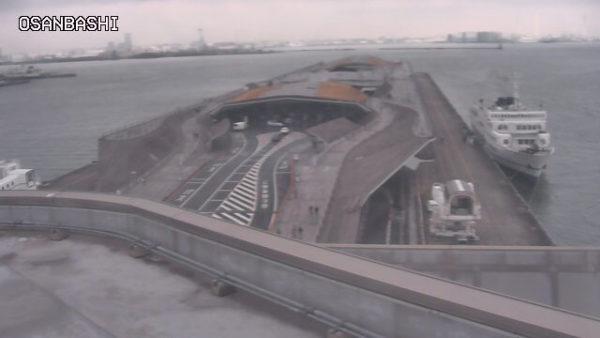 横浜港大さん橋国際客船ターミナルのライブカメラ|神奈川県横浜市