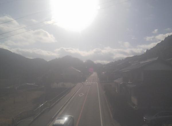 国道165号 室生三本松のライブカメラ 奈良県宇陀市