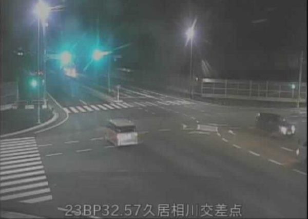 国道23号中勢バイパス 久居相川交差点のライブカメラ 三重県津市
