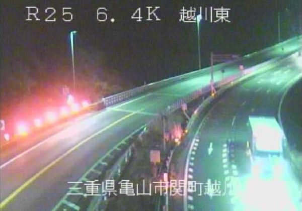 国道25号 越川東のライブカメラ|三重県亀山市
