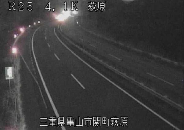 国道25号 萩原のライブカメラ|三重県亀山市