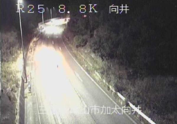 国道25号 向井のライブカメラ|三重県亀山市