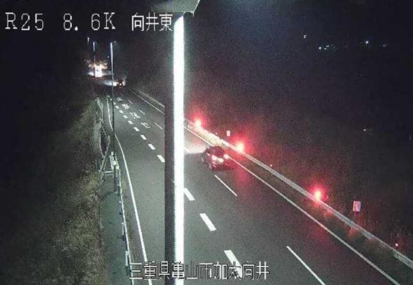 国道25号 向井東のライブカメラ|三重県亀山市