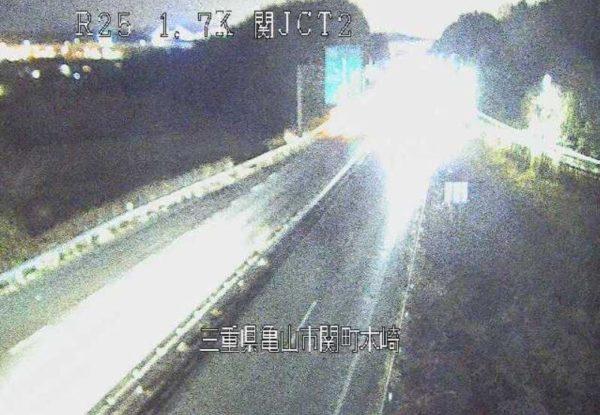 国道25号 関ジャンクション2番のライブカメラ 三重県亀山市
