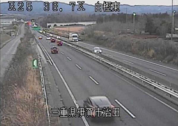 国道25号線 白樫東のライブカメラ|三重県伊賀市