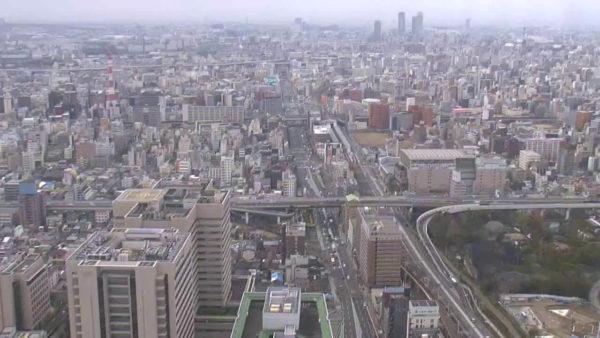 あべのハルカス37Fのライブカメラ|大阪府阿倍野区