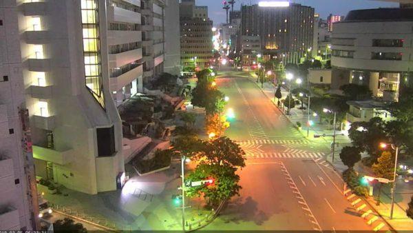 琉球新報本社前のライブカメラ|沖縄県那覇市