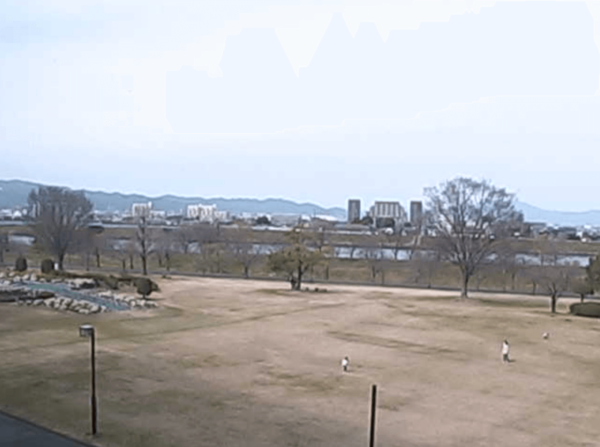 久留米百年公園・筑後川のライブカメラ|福岡県久留米市