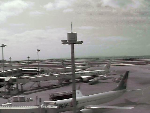那覇空港のライブカメラ(JAL)|沖縄県那覇市
