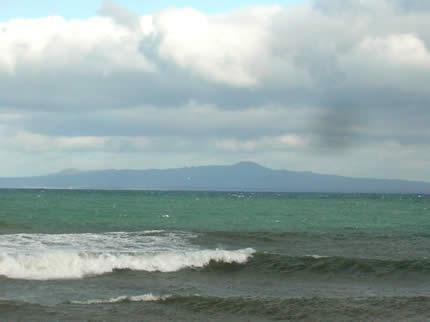 野付半島 国後島のライブカメラ|北海道別海町