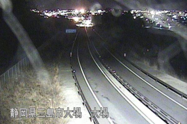 国道1号 伊豆縦貫自動車道 大場のライブカメラ|静岡県三島市
