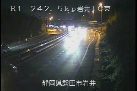 国道1号 岩井インターチェンジ東のライブカメラ|静岡県磐田市