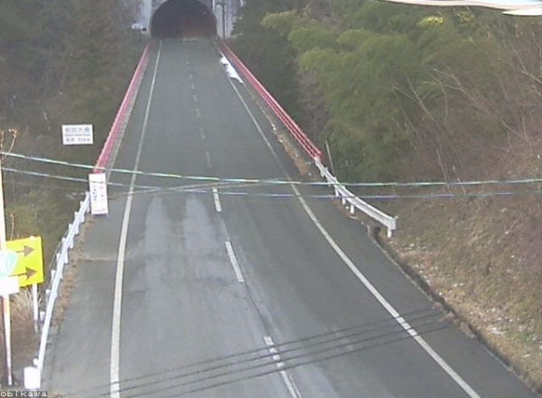 国道151号 帯川のライブカメラ 長野県阿南町