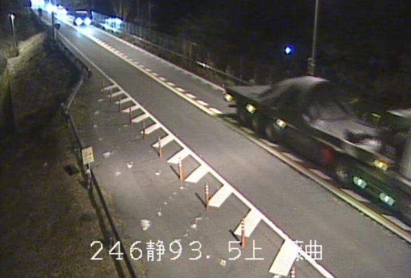 国道246号 藤曲のライブカメラ|静岡県小山町