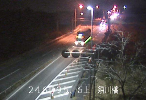 国道246号 須川橋のライブカメラ|静岡県小山町