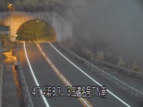 国道474号 三遠名号トンネル南のライブカメラ|愛知県新城市