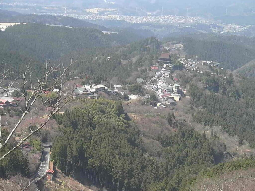 吉野桜上千本のライブカメラ|奈良県吉野町
