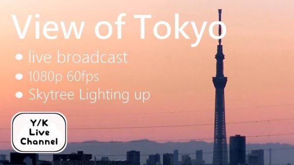 東京スカイツリー(首都高上空)のライブカメラ|東京都墨田区
