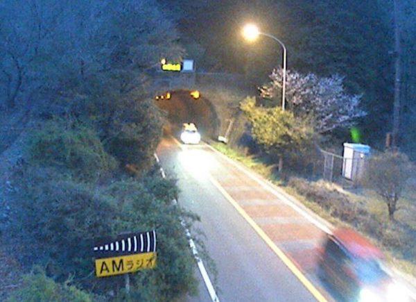 伊東修善寺線 冷川トンネル(西側)のライブカメラ|静岡県伊豆市