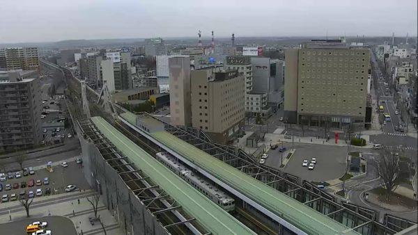 JR帯広駅前のライブカメラ|北海道帯広市