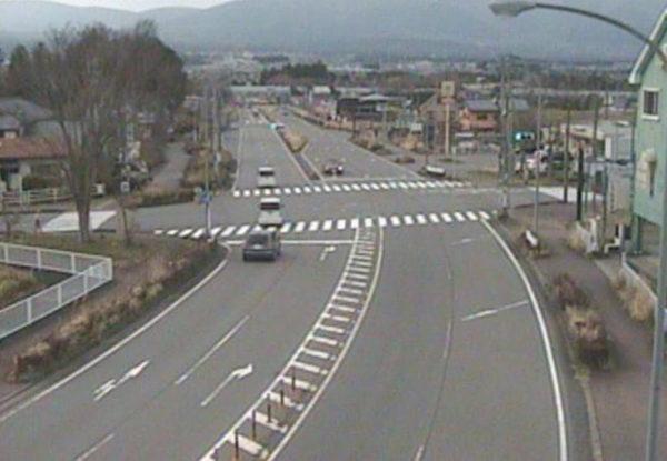 国道138号 湖水前交差点のライブカメラ|静岡県御殿場市