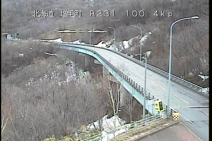 国道231号 増毛町歩古丹のライブカメラ|北海道増毛町