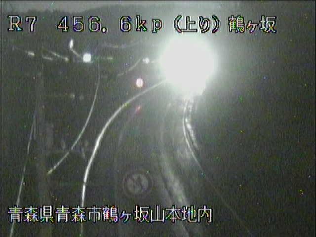 国道7号 鶴ヶ坂のライブカメラ|青森県青森市