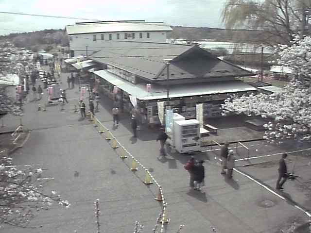 展勝地レストハウスのライブカメラ|岩手県北上市