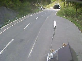 岡山県道58号 野土路トンネル前のライブカメラ|岡山県新庄村