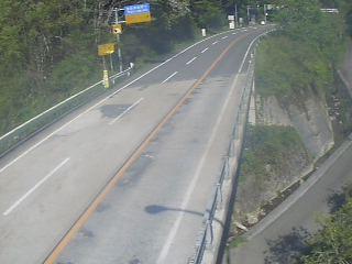 国道181号 四十曲峠のライブカメラ|岡山県新庄村