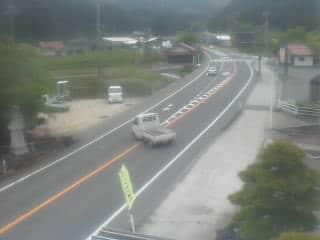 国道181号 幸町のライブカメラ|岡山県新庄村