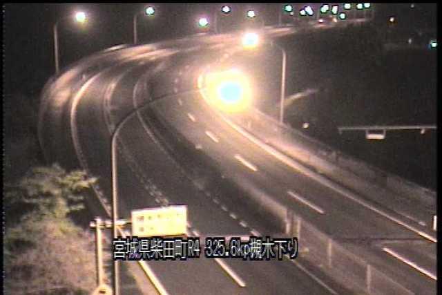 国道4号 槻木高架橋下りのライブカメラ|宮城県柴田町