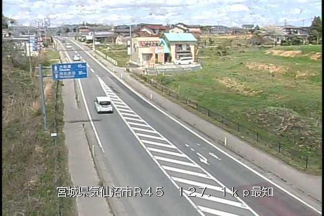 国道45号 最知のライブカメラ|宮城県気仙沼市
