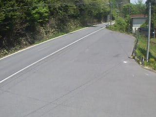 国道482号 内海峠のライブカメラ 岡山県真庭市
