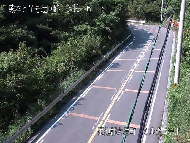 熊本県道339号 古城第2のライブカメラ|熊本県大津町