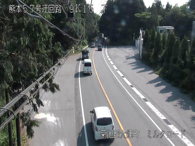 熊本県道339号 古城第4のライブカメラ|熊本県大津町