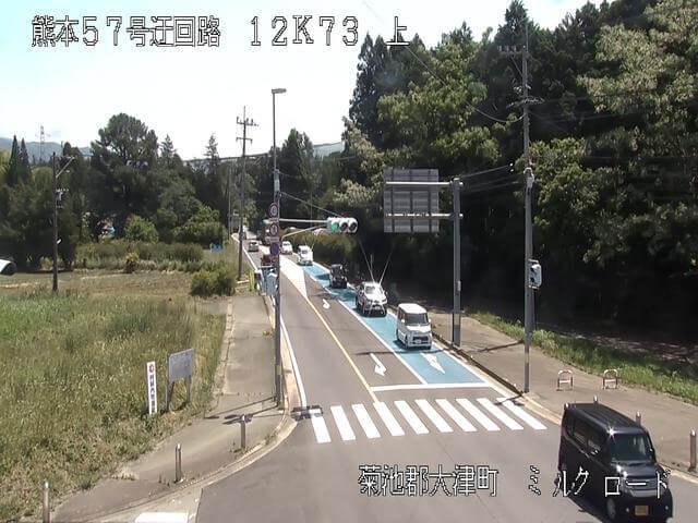 熊本県道339号 大津のライブカメラ|熊本県大津町