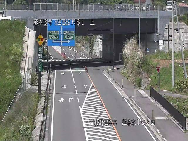 南九州自動車道 津奈木インターチェンジのライブカメラ|熊本県津奈木町