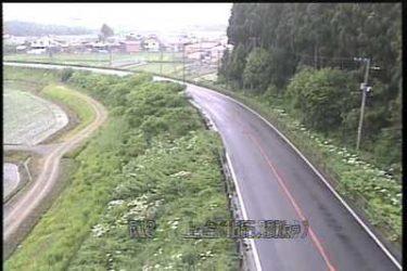 国道13号 上台のライブカメラ|山形県金山町