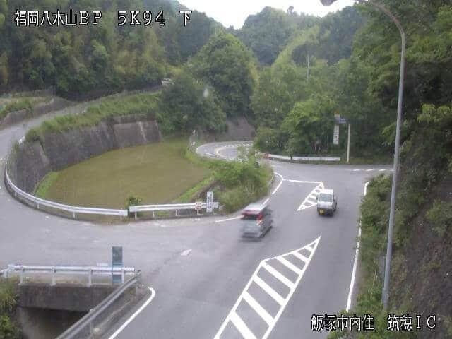 国道201号 筑穂インターチェンジ入口のライブカメラ|福岡県飯塚市