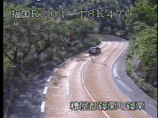 国道201号 篠栗9のライブカメラ|福岡県篠栗町