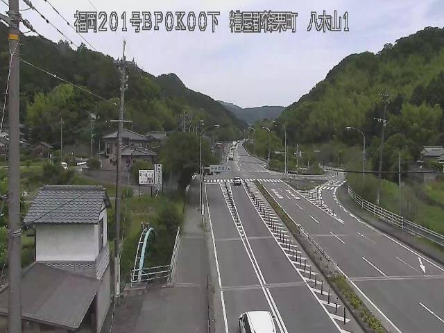 国道201号 八木山バイパス1のライブカメラ|福岡県篠栗町