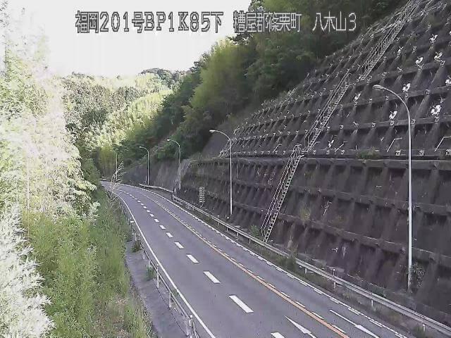 国道201号 八木山バイパス3のライブカメラ|福岡県篠栗町