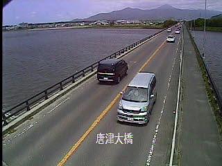 国道202号 唐津大橋のライブカメラ|佐賀県唐津市