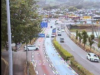 国道202号 二里跨線橋のライブカメラ|佐賀県伊万里市